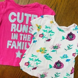 Old Navy tees (2) size 2T